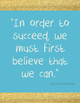 Inspriational Quote Posters - Classroom or Office Decorations