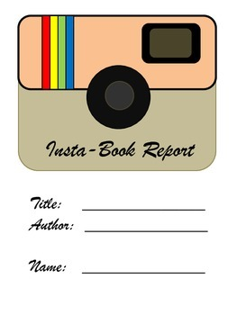 Insta- Book Report (Characters, Setting, Problem, Solution, Plot) {Instagram}
