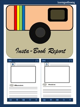 Insta- Book Report (Characters, Setting, Problem, Solution