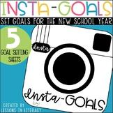 Insta-Goals {Goal Setting Booklet}