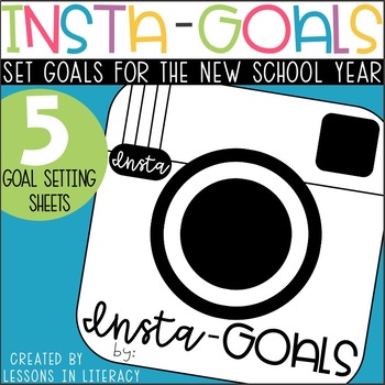 Insta-Goals {Goal Setting Booklet}