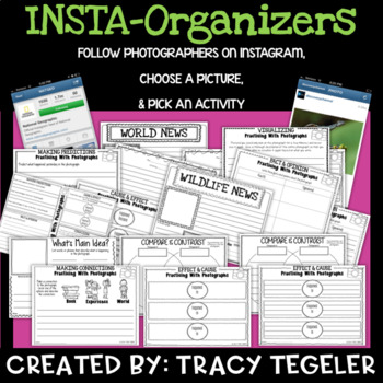 Insta-Organizers (Use Instagram Photographs to Practice Reading Strategies)