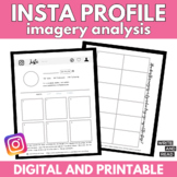 Instagram Social Media Profile: Imagery Analysis Activity
