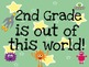 ....Grade is Out of this World-Space Instadoor Decor or Bulletin Board