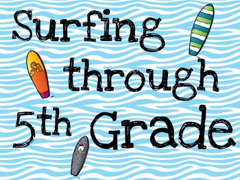 Surfing through....Grade-Instadoor Decor or Bulletin Board