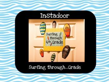 Surfing through....Grade-Instadoor Decor or Bulletin Board