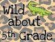Wild about...Grade-Jungle Instadoor Decor or Bulletin Board