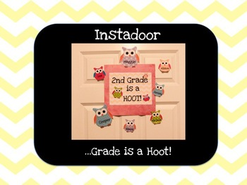 ...Grade is a Hoot with Owls-Instadoor Decor or Bulletin Board