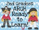 ...Graders ARGH Ready to Learn-Pirate Instadoor Decor or Bulletin Board