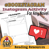 Instagram Activity for Any Novel