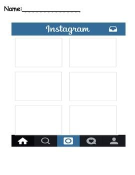 Instagram Activity sheet