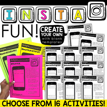 Instagram Back to School Activity