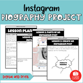 Instagram Biography Research Project   Digital and Print   Google Slides