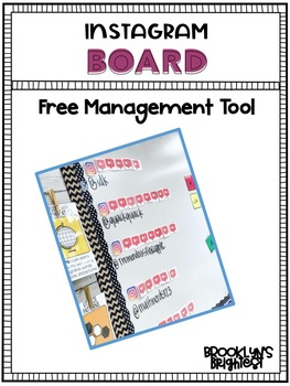 Instagram Board FREE Management Tool