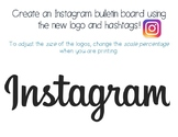 Instagram Bulletin Board {new updated logo}