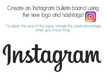 Instagram Bulletin Board {new updated logo}