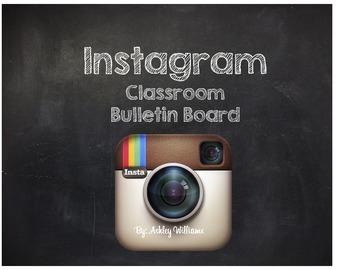 Instagram Classroom Bulletin Board Set