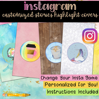 Instagram Customized Stories Highlight Covers