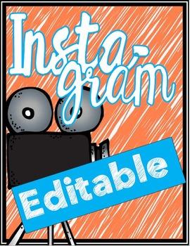 Instagram - Editable!