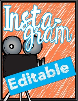 Instagram - Editable!