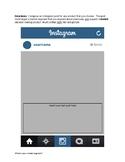 Instagram Exit Slip Editable (Marketing)