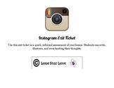 Instagram Exit Ticket