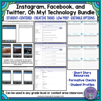 Instagram, Facebook, and Twitter, Oh My! Technology Bundle