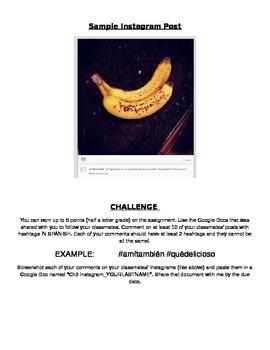 Instagram Food Project