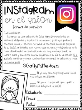 Instagram Form - Spanish
