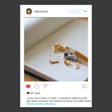 Instagram Frame Editable - FUN