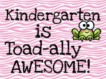 ...Grade is Toad-ally Awesome-Instadoor Decor or Bulletin Board