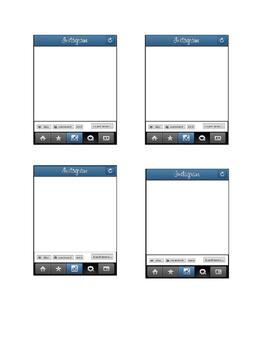 Instagram Graphic Organizer