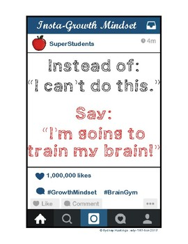 "Instagram ""Insta-Growth"" Mindset Posters"