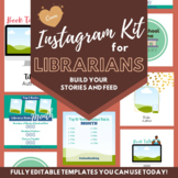 Instagram Kit for Librarians - for use with CANVA [fully e