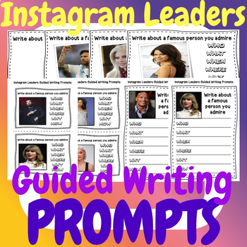 Instagram Leaders Guided Writing Prompts
