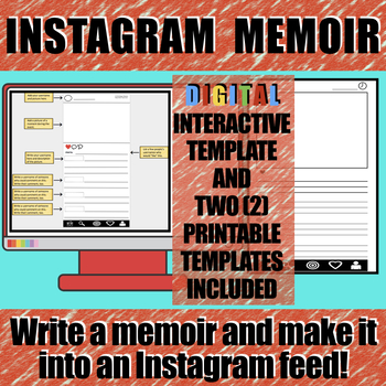 Instagram Memoir Activity
