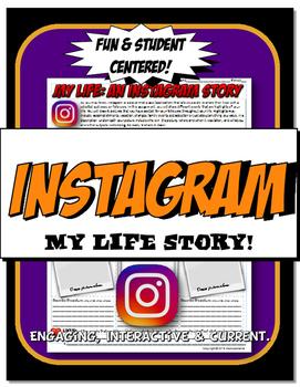Instagram My Life Timeline Fun Back to School Icebreaker
