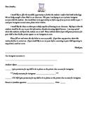 Instagram Permission Letter