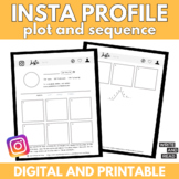 Instagram Plot and Sequence Activity: Use with ANY Story
