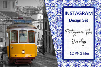 Instagram Post Design Templates, Photo Overlays, Photo Frames, Post Decoration