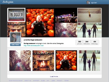 Instagram powerpoint template by innovativeclassroom tpt instagram powerpoint template toneelgroepblik Choice Image