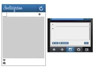 Instagram Powerpoint Template