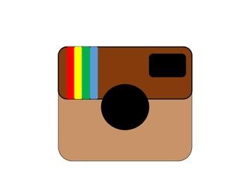 Instagram Printable for Bulletin Board FREEBIE