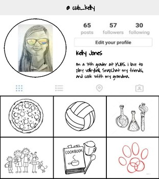 Instagram Profile Back to School Activity