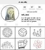 Instagram Profile Back to School Activity