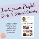 Instagram Profile Template - Back to School Activities
