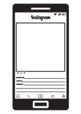 Instagram Profile Template. Social Media Activity. Character Analysis. 9 Colours