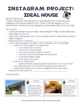 Instagram Project: Dream House for World Languages