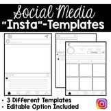 Social Media Project Templates (Editable Versions Included) Instagram Style
