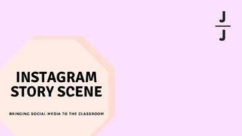Instagram Story Scene